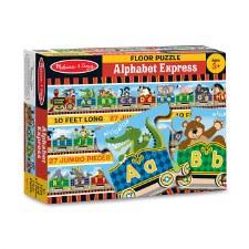 Melissa & Doug Floor Puzzle Alphabet Express 27pc