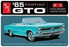 Amt 65 Pontiac Gto 2 In 1 1/25 Level 2