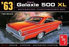 Amt 63 Ford Galaxie 500xl 3 In 1 1/25 Level 2