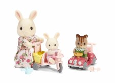 Calico Critters Apple & Jake Ride & Play