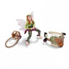 Schleich Elf Riding Set