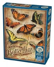 Cobble Hill 500pc Backyard Butterflies