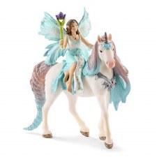 Schleich Bayala Fairy Eyela With Princess Unicorn