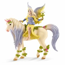 Schleich Bayala Fairy Sera With Blossom Unicorn