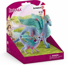 Schleich Bayala Flower Dragon & Child