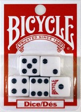 Bicycle Basic Dice Set Of 5 D6