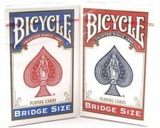 Bicycle Bridge Size Cards