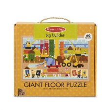 Melissa & Doug Giant Floor Puzzle 60pc Big Builder