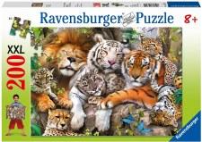 Ravensburger 200pc Xxl Big Cat Nap