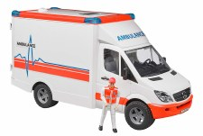 Bruder Ambulance With Driver