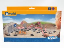 Bruder Bworld Construction Set Railings Site Signs & Pylons