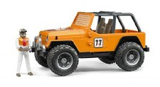 Bruder Jeep Cross Country Race Orange