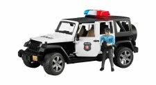 Bruder Jeep Rubicon Police Suv With Policeman