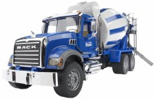 Bruder Mack Granite Cement Mixer Truck 02814