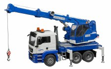 Bruder Man Tgs Crane Truck With Light And Sound 03770
