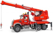 Bruder Mack Granite Crane With Lights And Sound