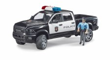 Bruder Police Ram 2500 With Policeman 02505