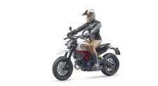 Bruder Ducati Scrambler With Driver