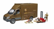 Bruder Ups With Driver & Accessories