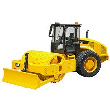 Bruder Cat Vibratory Soil Compactor With Leveling Blade