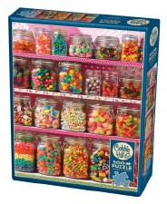 Cobble Hill 500pc Candy Shelf 85011