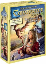 Carcassonne Expansion Princess & The Dragon