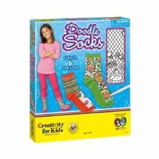 Creativity For Kids Doodle Socks