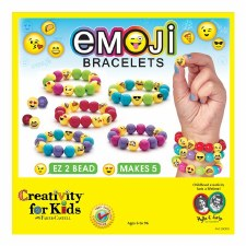 Creativity For Kids Emoji Bracelets Set