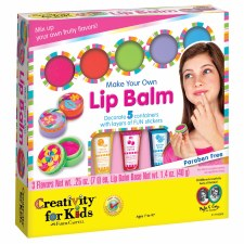 Creativity For Kids Make Your Own Lipbalm