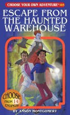 Choose Your Own Adventure #185 Escape From The Haunted Warehouse