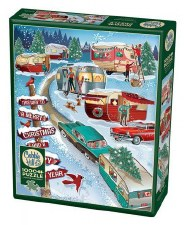 Cobble Hill 1000pc Christmas Campers