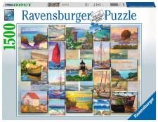 Ravensburger 1500 Pc Coastal Collage