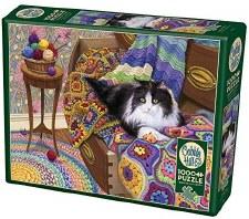 Cobble Hill 1000pc Comfy Cat
