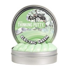 Crazy Aarons Thinking Putty Electric Green Small