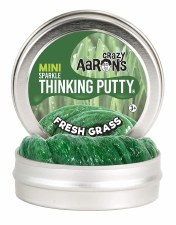 Crazy Aarons Thinking Putty Fresh Grass Small Tin