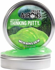 Crazy Aarons Thinking Putty Morning Dew