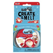 Crazy Aarons Thinking Putty Scented Santas Cookies