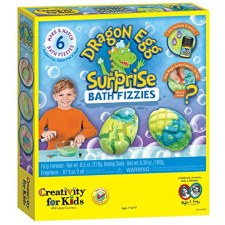 Creativity For Kids Dragon Egg Surprise Bath Fizz