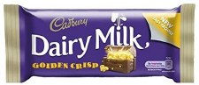 Dairy Milk Golden Crisp