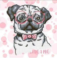 Diamond Dotz Hug A Pug