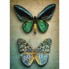Diamond Dotz Antique Butterflies