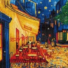 Diamond Dotz Cafe At Night Van Gogh