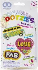 Diamond Dotz Love Stickers