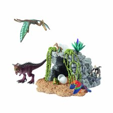 Schleich Dinosaur Set With Cave