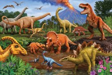 Cobble Hill Floor Puzzle Dinos 36 Pieces