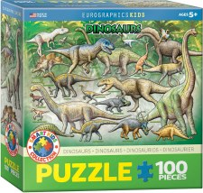 Eurographics 100pc Dinosaurs