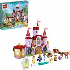 Lego Disney Belle And The Beasts Castle 43196