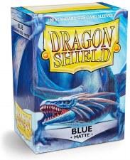 Dragon Shield Sleeve Blue Matte 100pc