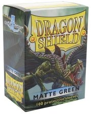Dragon Shield Sleeve Green Matte 100pc
