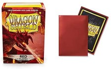 Dragon Shield Sleeves Red Classic 100pc